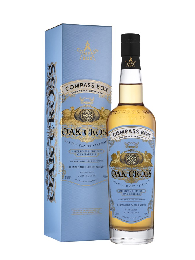 Oak Cross Blended malt Compass Box