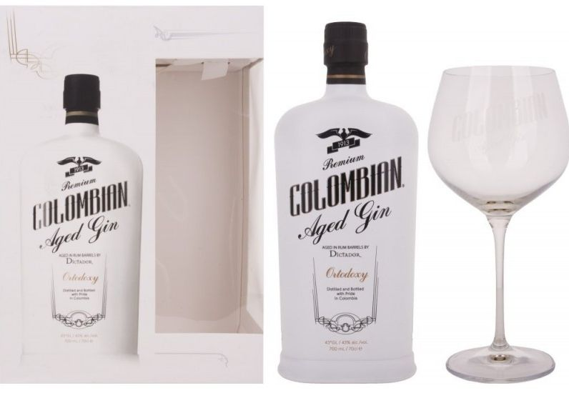 colombian aged gin
